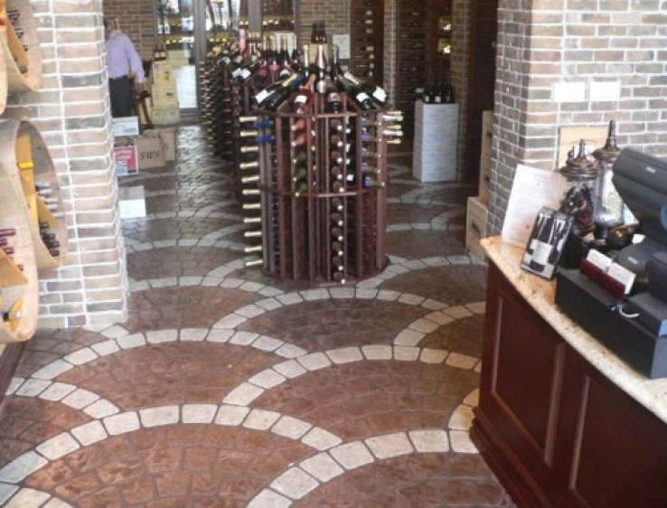 Stamped Concrete Interior Floors : Interior floors gallery sierra concrete resurfacing