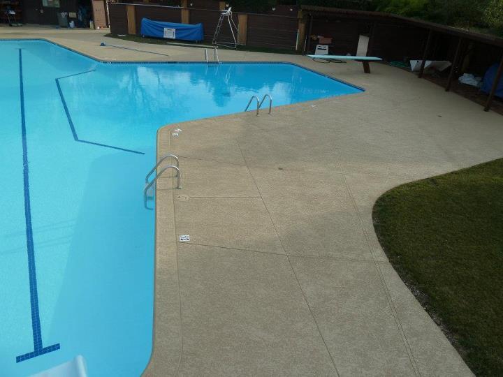 Sundek Classic Texture Concrete Coating Sacramento Ca